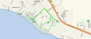 Run Course: 5k through the quiet neighborhoods