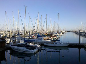 The Santa Barbar Harbor