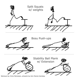 triathlon workout